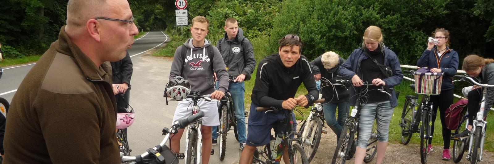 Fahrradtouren zur Grenzgeschichte