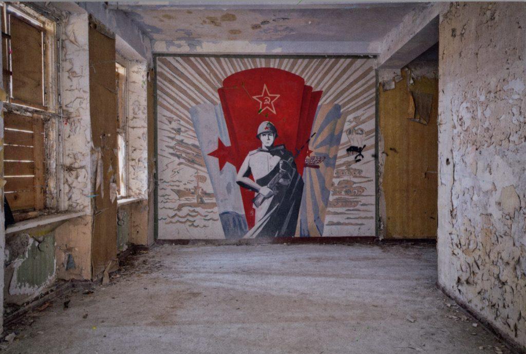 Sowjetische Spuren an ehemaligen Militärstandorten